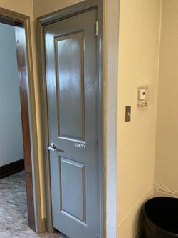 New Utility Closet
