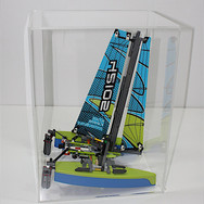 Teca LEGO CreativLab - catamarano Lego Technic