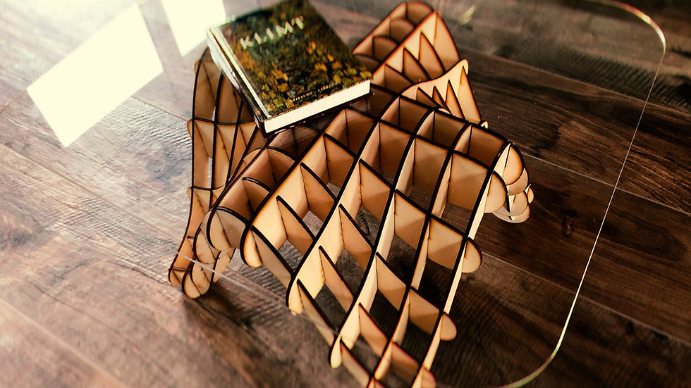 """wooden table """"WAVE"""" by CreativLab"""