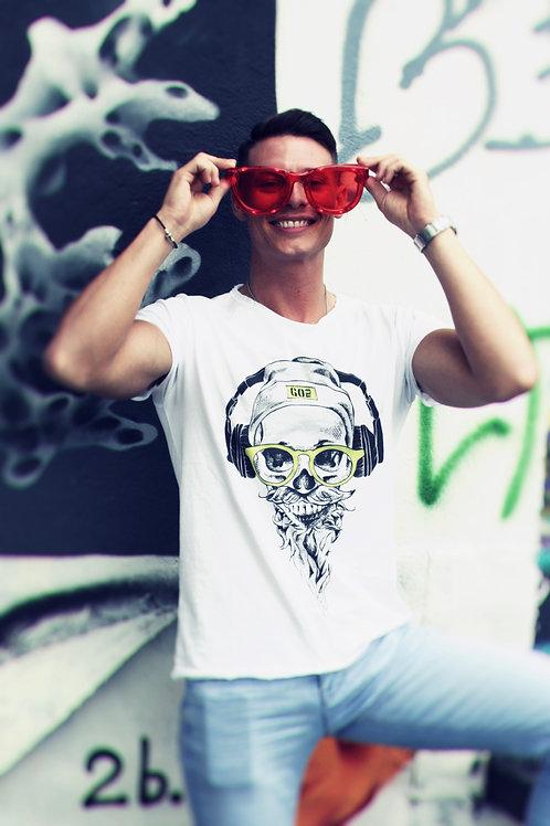 T-shirt Go Wild UOMO - HIPSTERSKULL