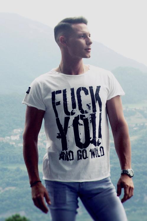 T-shirt Go Wild UOMO - FUCK YOU