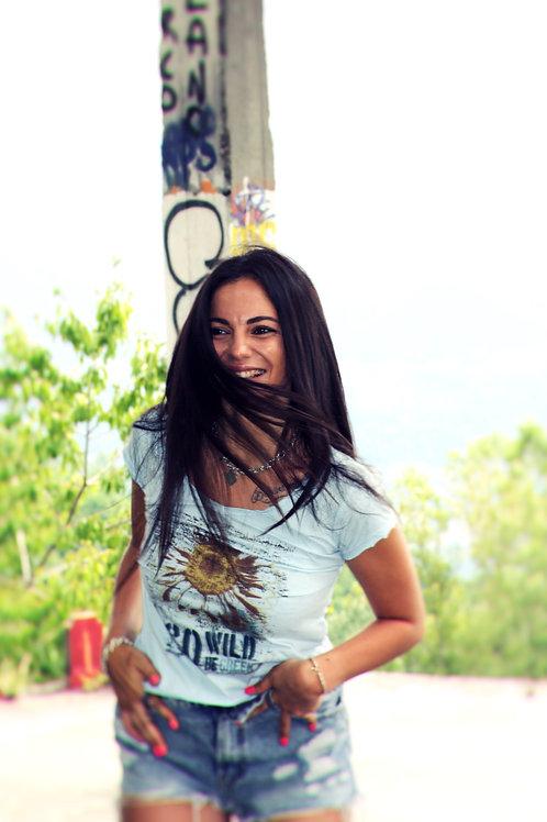 T-shirt Go Wild DONNA - FLOWER