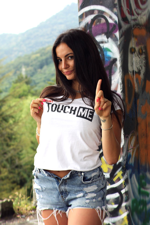 T-shirt Go Wild DONNA - DON'T TOUCH ME