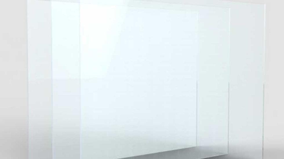 10 lastre plexiglass 5 mm - 150x150mm