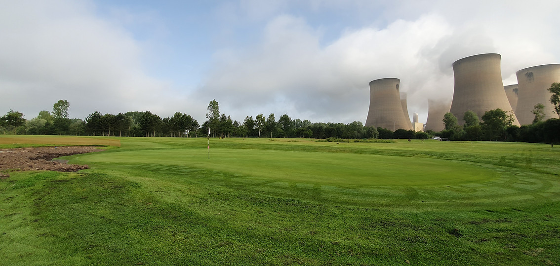 Drax Golf Club Hole 9