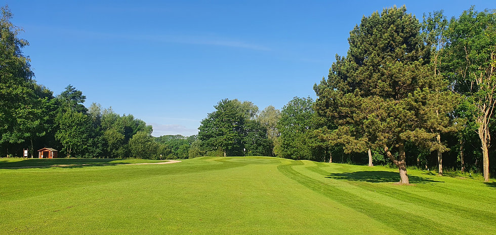 Drax Golf Club, Hole 2 Fairway