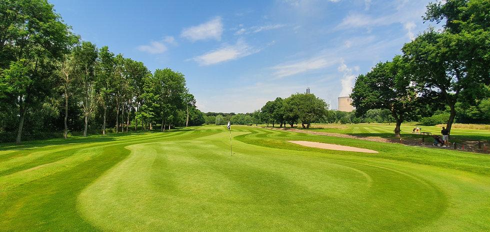 Drax Golf Club, Hole 3 Green
