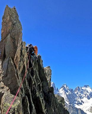 Cresta in corda corta Valle Orco