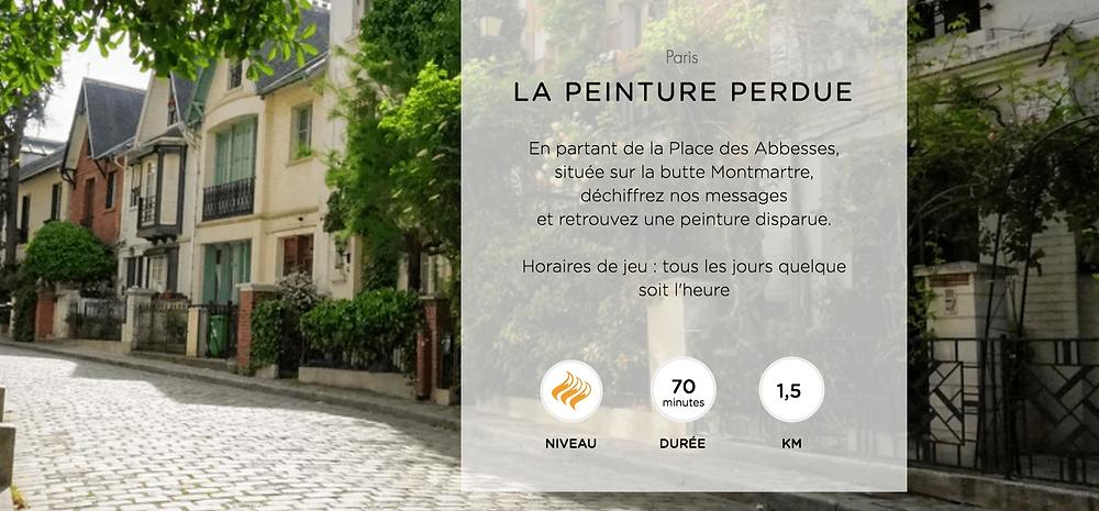 La Peinture Perdue - Jeux de piste à Montmartre