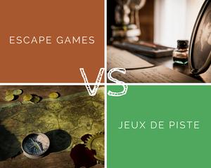 Escape game VS Jeux de piste