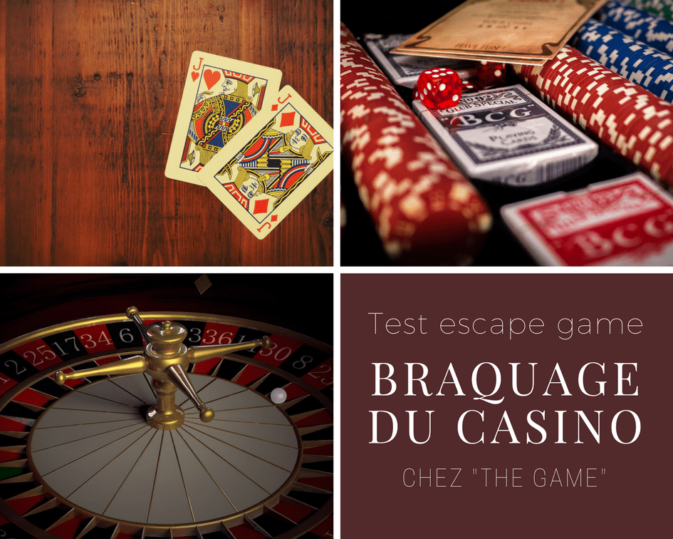 Braquage du casino the game
