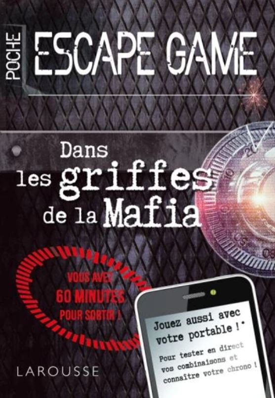 Livre Griffes Mafia Escape Game