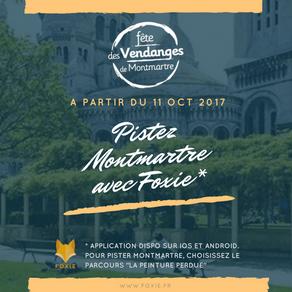 Pistez Montmartre avec Foxie