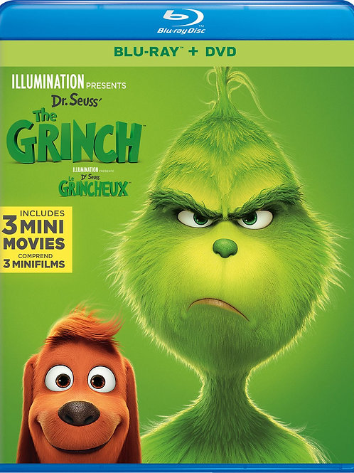 THE GRINCH BLU-RAY/DVD COMBO 2018