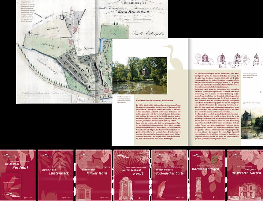 Buchreihe Wuppertals grüne Anlagen