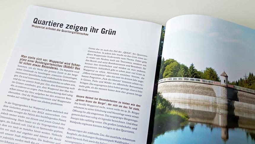 QUGA. Wuppertal erfindet die Quartiersgartenschau