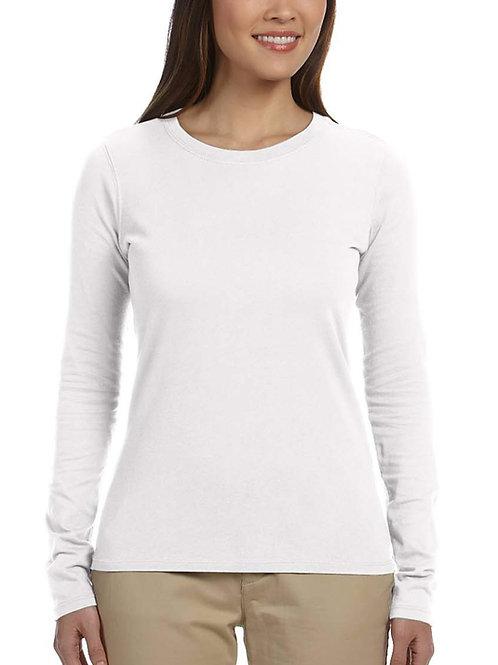 ECONSCIOUS™Ladies' 4.4 oz., 100% Organic Cotton Classic Long-Sleeve T-Shirt