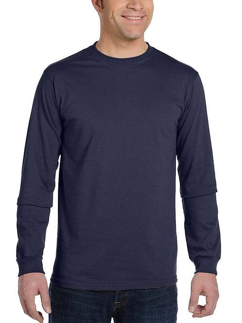 ECONSCIOUS™ Men's 5.5 oz., 100% Organic Cotton Classic Long-Sleeve T-Shirt