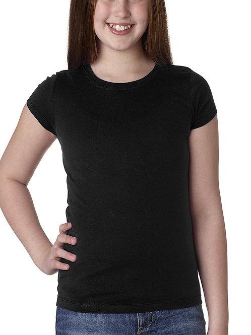 NEXT LEVEL™ Youth Girls' Princess T-Shirt