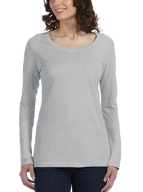 ANVIL™ Ladies' Long-Sleeve Scoop T-Shirt