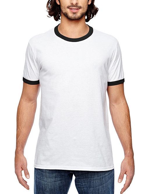 ANVIL™ Adult Lightweight Ringer T-Shirt