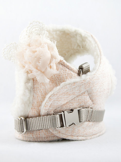 Dog Harness - Blush Sparkle