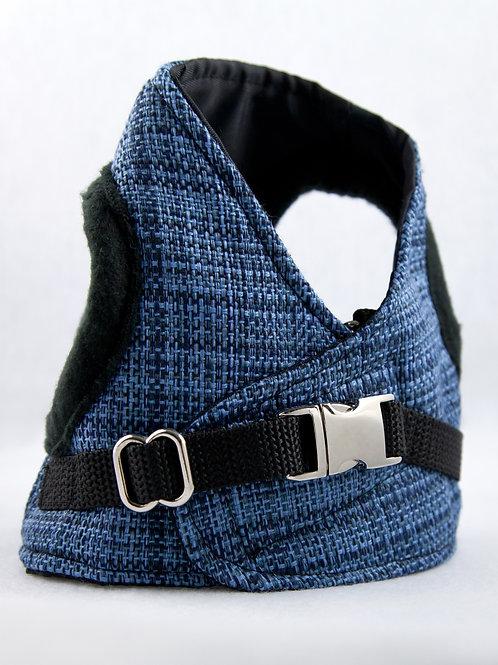 Dog Harness - Blue Stripe