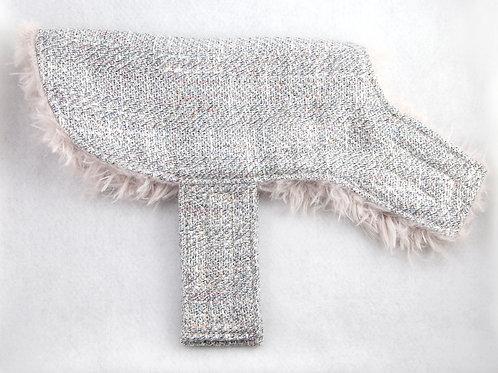 Dog Vest - Silver Tweed