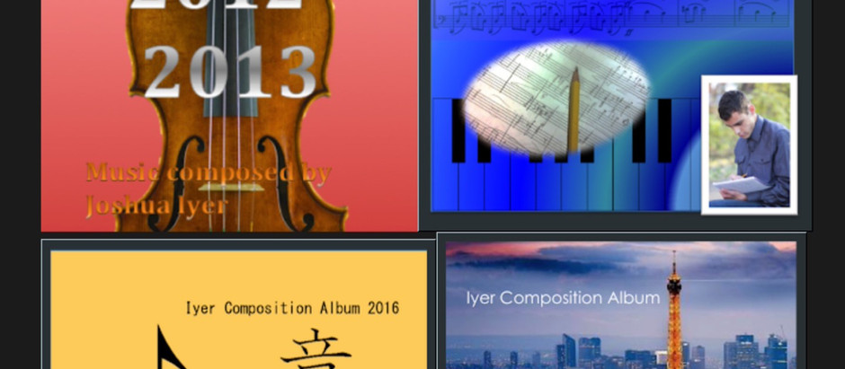 My Composition Website - Release Day!