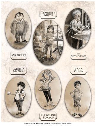 Characters for MG Novel