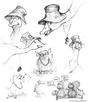 Goose Sketches