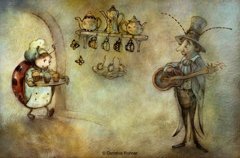 Tiny Baker- Ladybug & Cricket