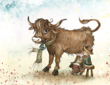 Wee Little Mannie and Big, Big Coo