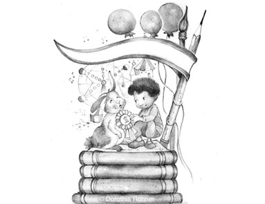 Tonal Drawing for Save the Date SCBWI 2019 WWMWLogo