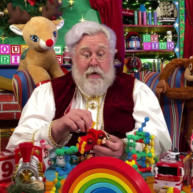 Santa Musing About Cookies