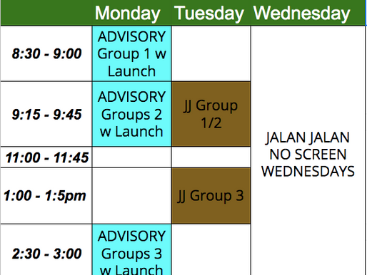 HS Update (Weekly - May 4)