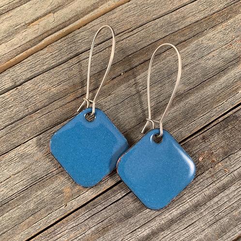 Light Blue Drop Squares