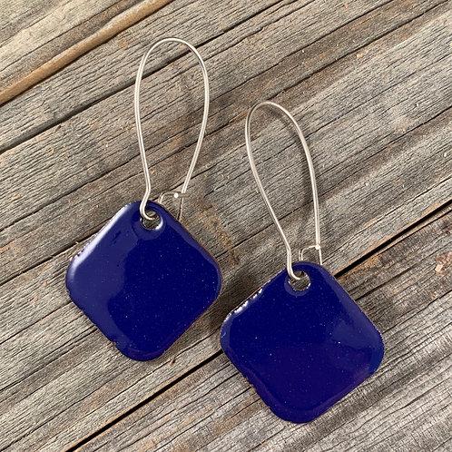Blue Drop Squares