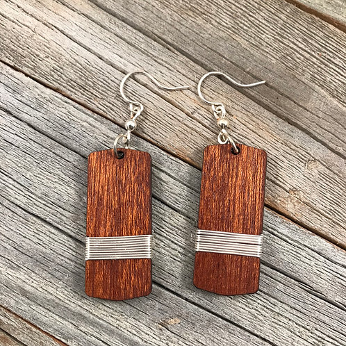 Wire-Wrapped Wood
