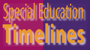 Special Education Timelines