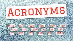 Your Guide to Acronyms