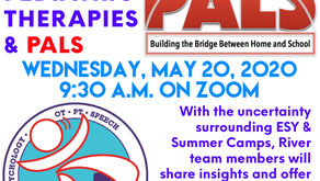May 20, 2020 Meeting - Preparing for Summer with River Pediatric Therapies