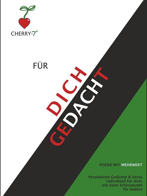 """Cherry-T """"FÜR DICH GEDACHT"""""""