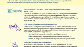 AREA RESOURCES ENGLISH/SPANISH
