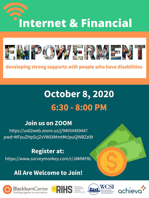Internet and Financial Empowerment Event