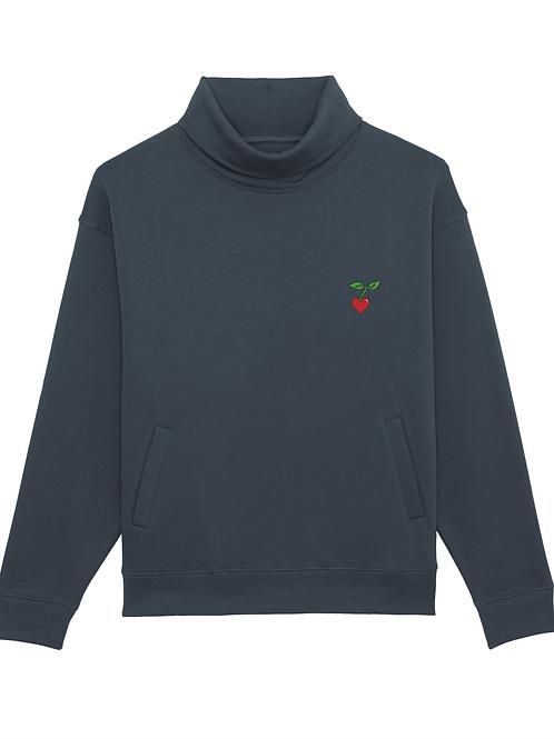 Sweater mit Stehkragen Unisex