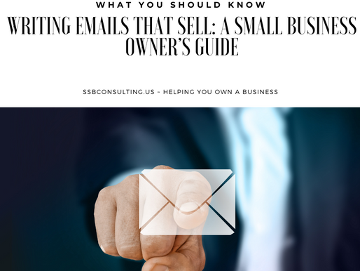 Writing Emails That Sell: A Small Business Owner's Guide
