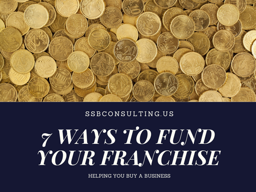 7 Ways To Finance a Franchise