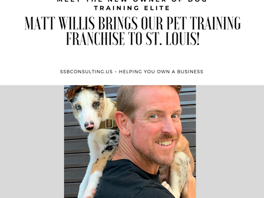 Matt Willis Brings Our Dog Training Franchise to St. Louis!