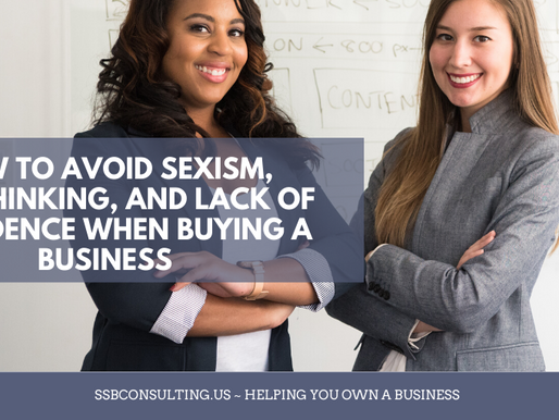 How to avoid sexism, overthinking, and lack of confidence when buying a business